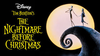 Netflix box art for The Nightmare Before Christmas