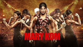 Netflix box art for Mary Kom