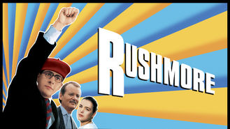 Netflix box art for Rushmore
