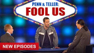 Netflix box art for Penn & Teller: Fool Us - Season 1