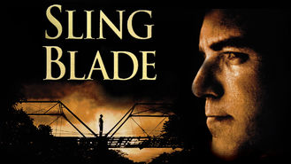 Is Sling Blade on Netflix?