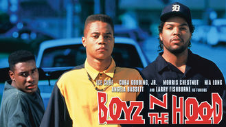 Netflix box art for Boyz n the Hood