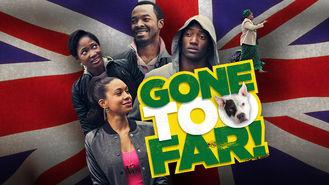 Netflix box art for Gone Too Far