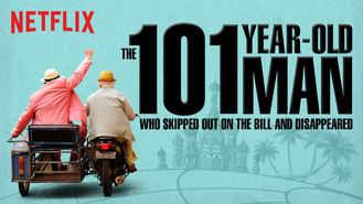 Netflix box art for The 101-Year-Old Man Who Skipped Out on...