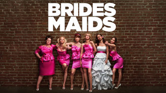 Netflix box art for Bridesmaids