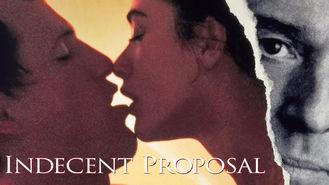 Netflix box art for Indecent Proposal