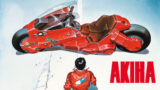 Netflix box art for Akira