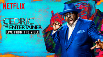 Netflix box art for Cedric the Entertainer: Live from the...