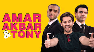 Netflix box art for Amar Akbar & Tony