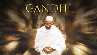 Netflix box art for Gandhi