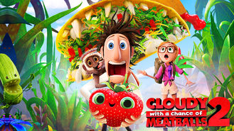 Netflix box art for Cloudy with a Chance of Meatballs 2