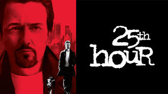 Netflix box art for 25th Hour