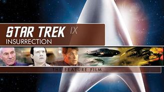 Is Star Trek: Insurrection on Netflix?