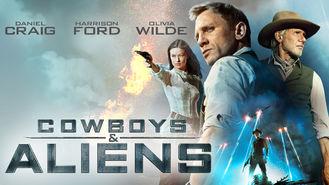 Netflix box art for Cowboys & Aliens