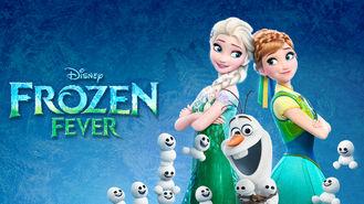 Netflix box art for Frozen Fever